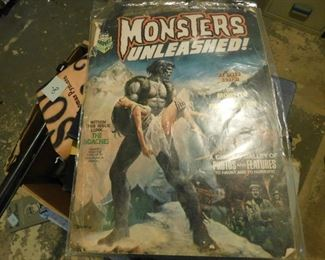 Monsters Unleashed Magazine