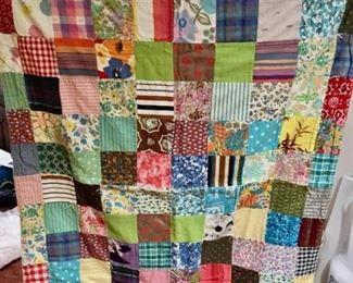 Handmade Quilt $95