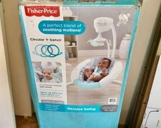 Fisher Price Revolve Swing $45 Nice!