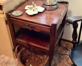 Antique Lamp Table  $55