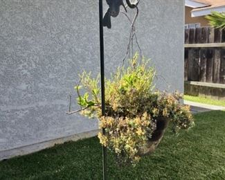 Plant & stand $12