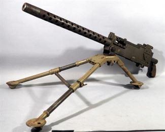 TNW US Government Model 1919 A4/A6 Machine Gun, Verona, OR, Cal .30 Semi Auto, Belt Fed, With Tri-Pod, SN#000101