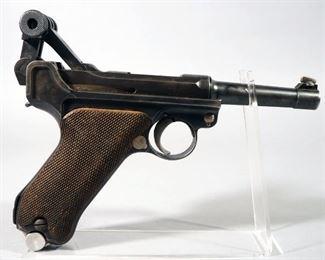 Mauser Luger 9mm Pistol SN# 545