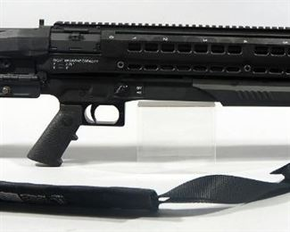 Utas UTS-15 12 ga Double Barrel Shotgun SN# US12P01172, With Padded Nylon Sling And Flashlight