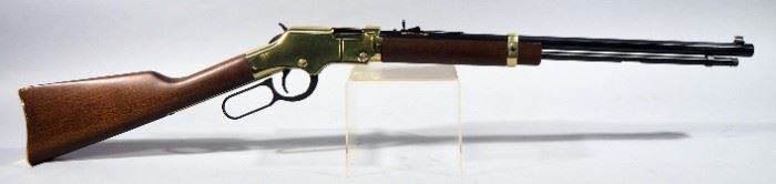 Henry Repeating Arms H004 Golden Boy .22 SLLR Lever Action Rifle SN# GB380795, In Original Box