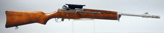 Ruger Mini-14 .223 REM Rifle SN# 182-19549, With Vented Muzzle, And 3 Total Mags (2 Are 30 Rd)