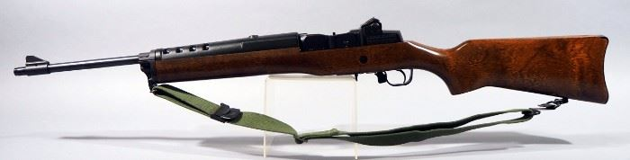 Ruger Mini-14 .223 REM Rifle SN# 186-71016, With Canvas Sling, 3 Total Mags (2 Are 30 Rd) And Sight Adjustment Tool
