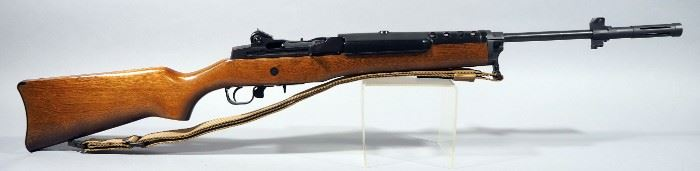 Ruger Mini-14 .223 REM Rifle SN# 186-47863, With Nylon Sling, 3 Total Mags (2 Are 30 Rd), And Sight Adjustment Tool