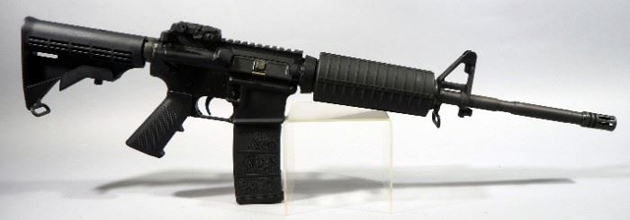 CMMG MK-4 5.56 NATO/.223 Rifle SN# SCG003043, Adjustable Stock, With 2 Total 30-Rd Mags