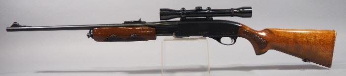 Remington Model 760 Gamemaster 30-06 SPRG Pump Action Rifle SN# 357570, With Weaver K-4 60-B Scope