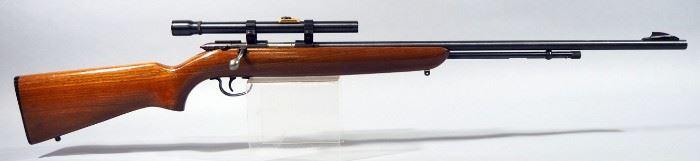Remington Model 512-X Sportmaster .22 SLLR Bolt Action Rifle SN# LL47, With JC Higgins Scope
