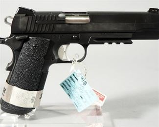 Sig Sauer Model 1911 .45 Auto Pistol SN# 54B059923, With 4 Total Mags, Extra Grips And Paperwork, In Original Hard Case