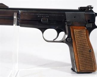 Browning Hi-Power 9mm Pistol SN# 73C69491, With 2 Total Mags, In Original Hard Case