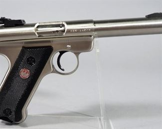 Ruger Mark II Target .22 LR Pistol SN# 224-44228, With 2 Total Mags And Paperwork, In Original Box
