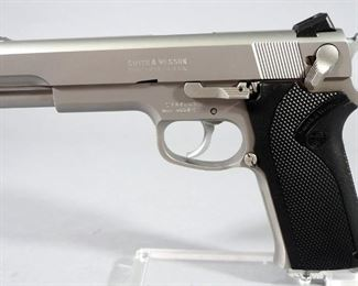 Smith & Wesson Model 4506-1 .45 Auto Pistol SN# TZA2049, With 4 Total Mags And Extra Pair Of Grips, In Hard Case