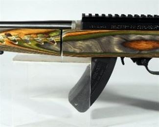 Ruger 04918 22 Charger Takedown .22 LR Pistol SN# 490-42951, Unfired, With UTG Bipod and Paperwork, In Original Hard Case