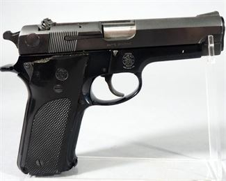 Smith & Wesson Model 59 9mm Pistol SN# A349955, With 4 Total Mags, In Hard Case