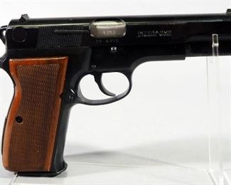 Interarms/ Hungarian Arms Works Model R-9 9mm PARA Pistol SN# OR 5786, 2 Total Mags, Paperwork, In Original Box