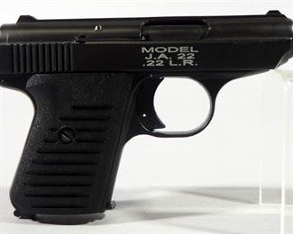 Jimenez Arms J.A.22 .22 LR Pistol SN# 409917, In Original Box