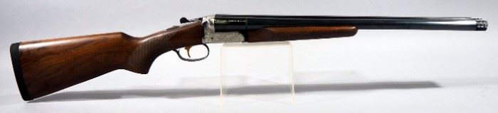 "E. R. Amantino / Stoeger STF 3000 Coach Gun 12 ga Side-By-Side Shotgun SN# Not Found, 18""Bbl, Brass Trigger, In Soft Case"