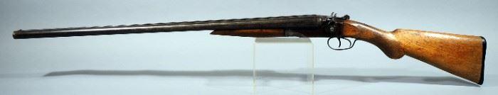 J. Stevens Model 235 12 ga Side-By-Side Shotgun SN# A13716, SN Is Under Forestock