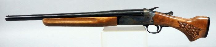 Savage Arms/ Stevens Model 94 Series M 20 ga Top Break Shotgun SN# R062341, In Leather Hard Case