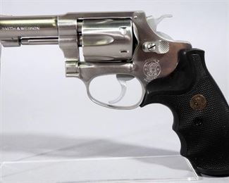 Smith & Wesson Model 650 .22 Cal 6-Shot Revolver SN# ADF0162, SN# Is Under Grip, With Extra Pair Of Grips, In Soft Case