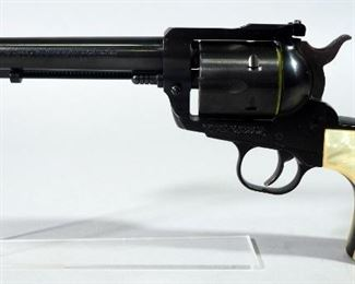 Ruger New Model Blackhawk .357 MAG 6-Shot Revolver SN# 37-25657, With Extra Cylinder And Paperwork, In Hard Case