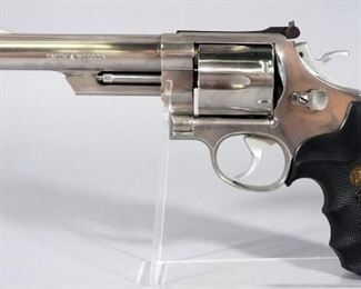Smith & Wesson Model 629-1 .44 MAG 6-Shot Revolver SN# AYL2774, With 2 Extra Pairs Of Grips, In Hard Case