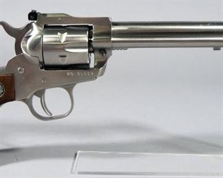 Ruger New Model Single-Six .22 Cal 6-Shot Revolver SN# 65-96119, With Extra Cylinder And Grips, In Hard Case