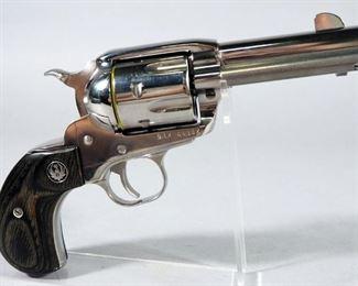 Ruger New Vaquero .45 ACP 6-Shot Revolver SN# 512-64382, With Paperwork, In Original Hard Case