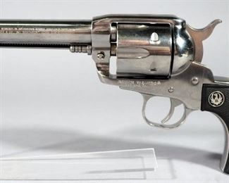 Ruger Vaquero .357 MAG 6-Shot Revolver SN# 58-10102, With Extra Cylinder And Paperwork, In Original Hard Case