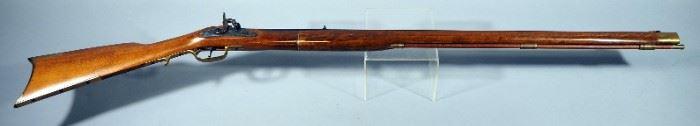 Jukar .45 Cal Percussion Cap Black Powder Kentucky Rifle SN# 22474, With Octagonal Barrel