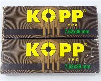 Kopp 7.62 x 39mm Ammo Approx 40 Rds