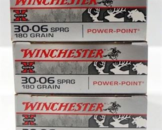 Winchester 30-06 SPRG Ammo Approx 60 Rds