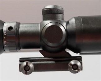 Firefield 1.5-5x32 Riflescope With Green Laser Model FF13017, In Box