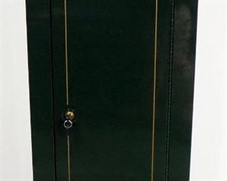 "Stack-On Single Door Steel Gun Locking Firearm Cabinet Model GCG-14P-DS With Keys, Includes 2 Interior Shelves Unmounted, 55""H x 21""W x 16""D"