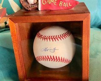 Autographed Chipper Jones (Atlanta Braves) Baseball
