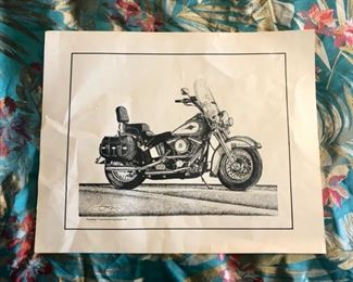 """c.1992, """"THE HERITAGE"""" art work by Scott Jackson, Signed & Numbered #79/1000 (16"""" x 20"""")"""