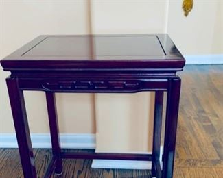 Chinese table.