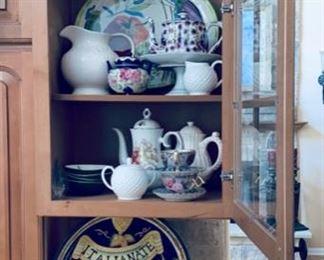 Ceramic kitchen items.