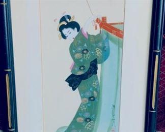 Painted Geisha.