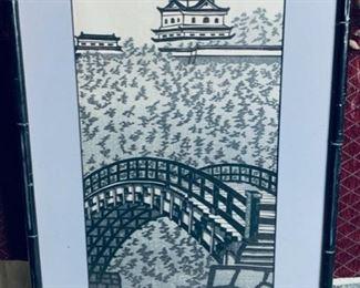 Japanese bridge.