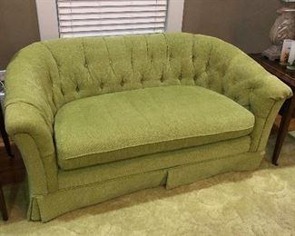 Fun Green Sofa