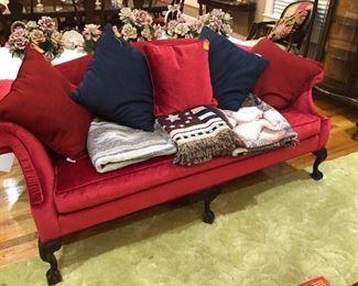 Fabulous Red Sofa