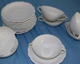 bavarian soup bowls and saucers