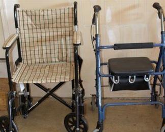 wheel chair walker