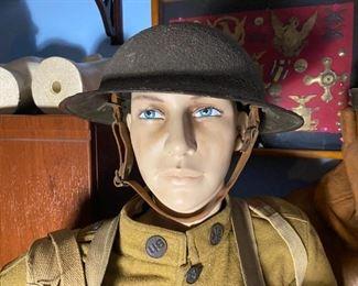 WWI Doughboy