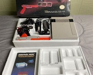 NES Original Box & Manual