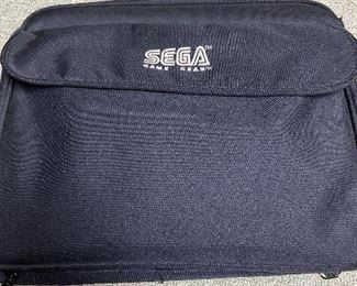 Sega Game Gear carrying case